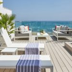 First line beach townhouse in Estepona