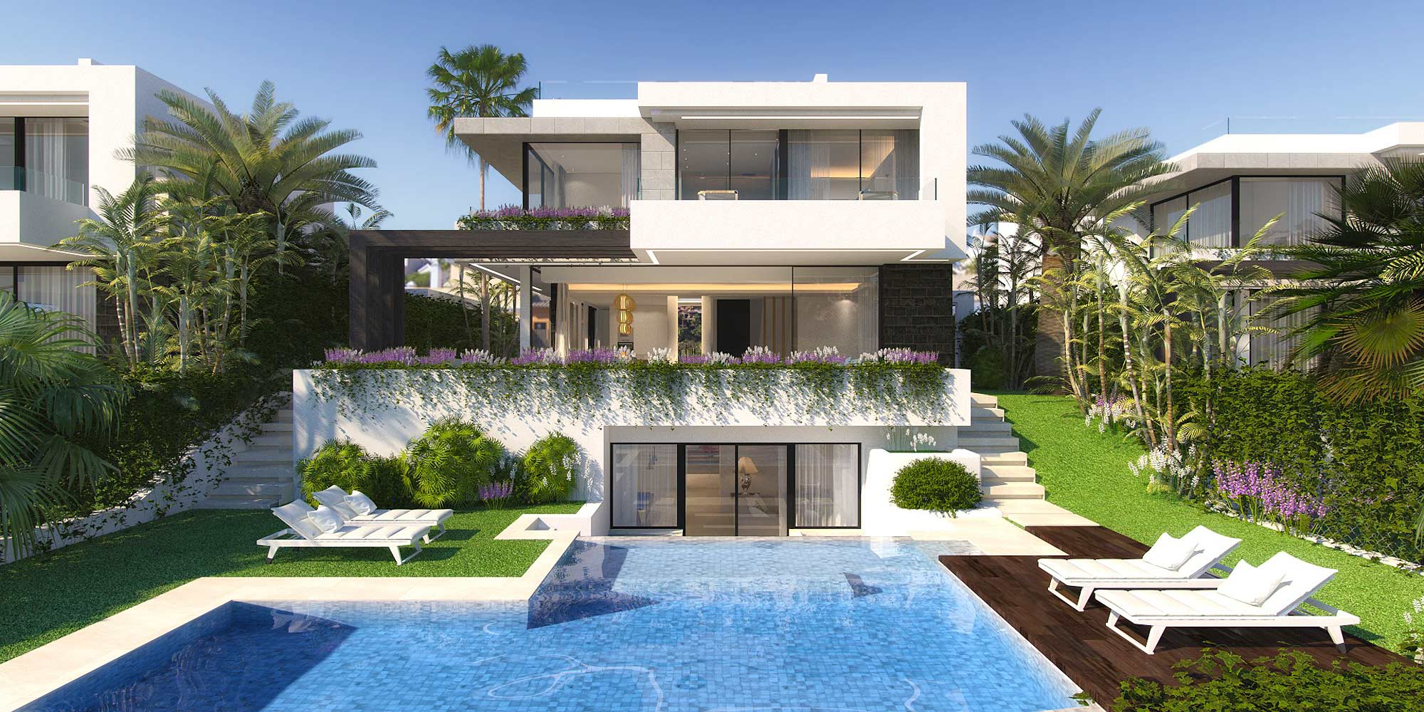 4-Bed Luxury Nordic Villa by the New Golden Mile