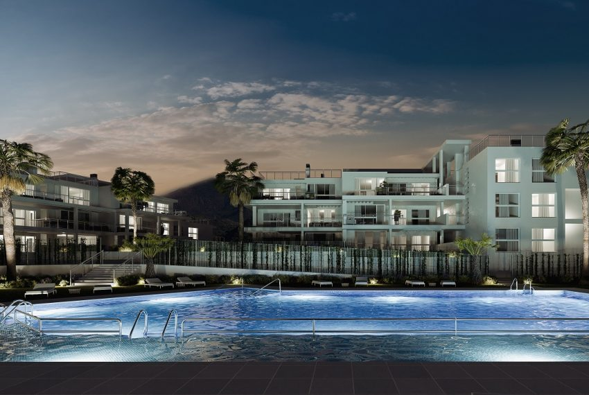 05_Exterior piscina nocturna